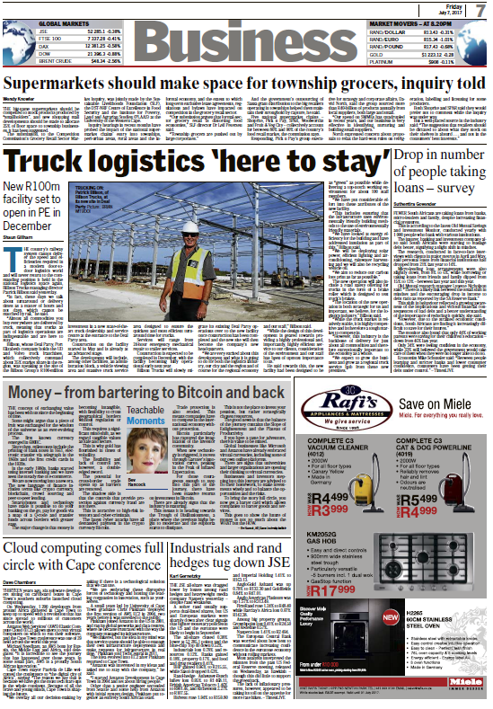 Truck logistics 'here to stay'